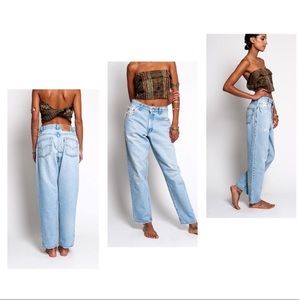 Levi | 560 Loose Fit Tapered Leg Mom Jeans